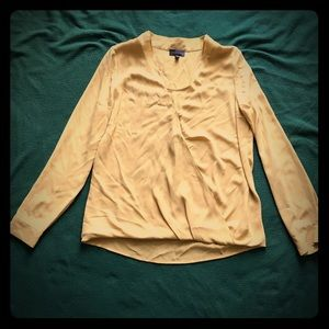 The Limited Yellow/Gold Blouse Size Medium